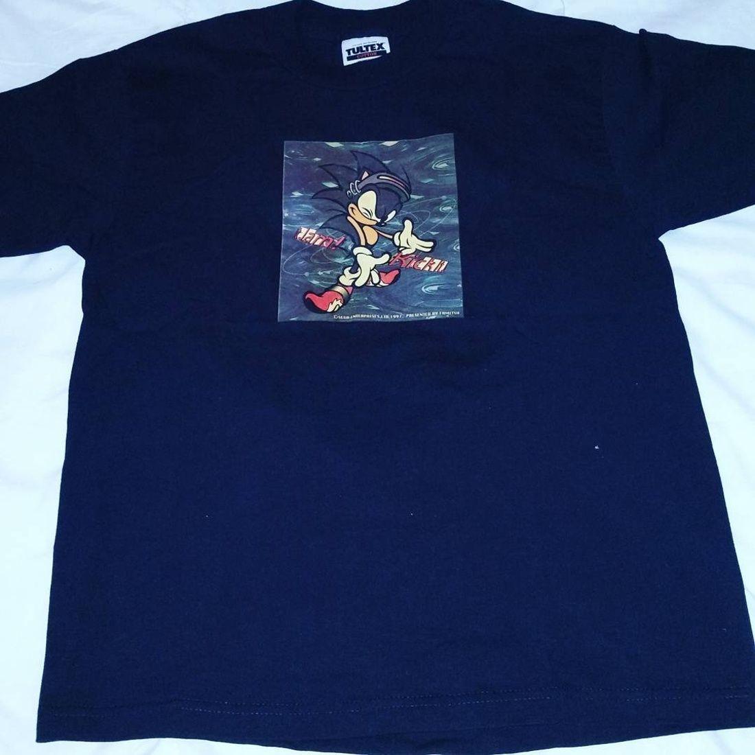 Vintage Sonic The Hedgehog Famitsu T Shirt Size S 70 Grailed