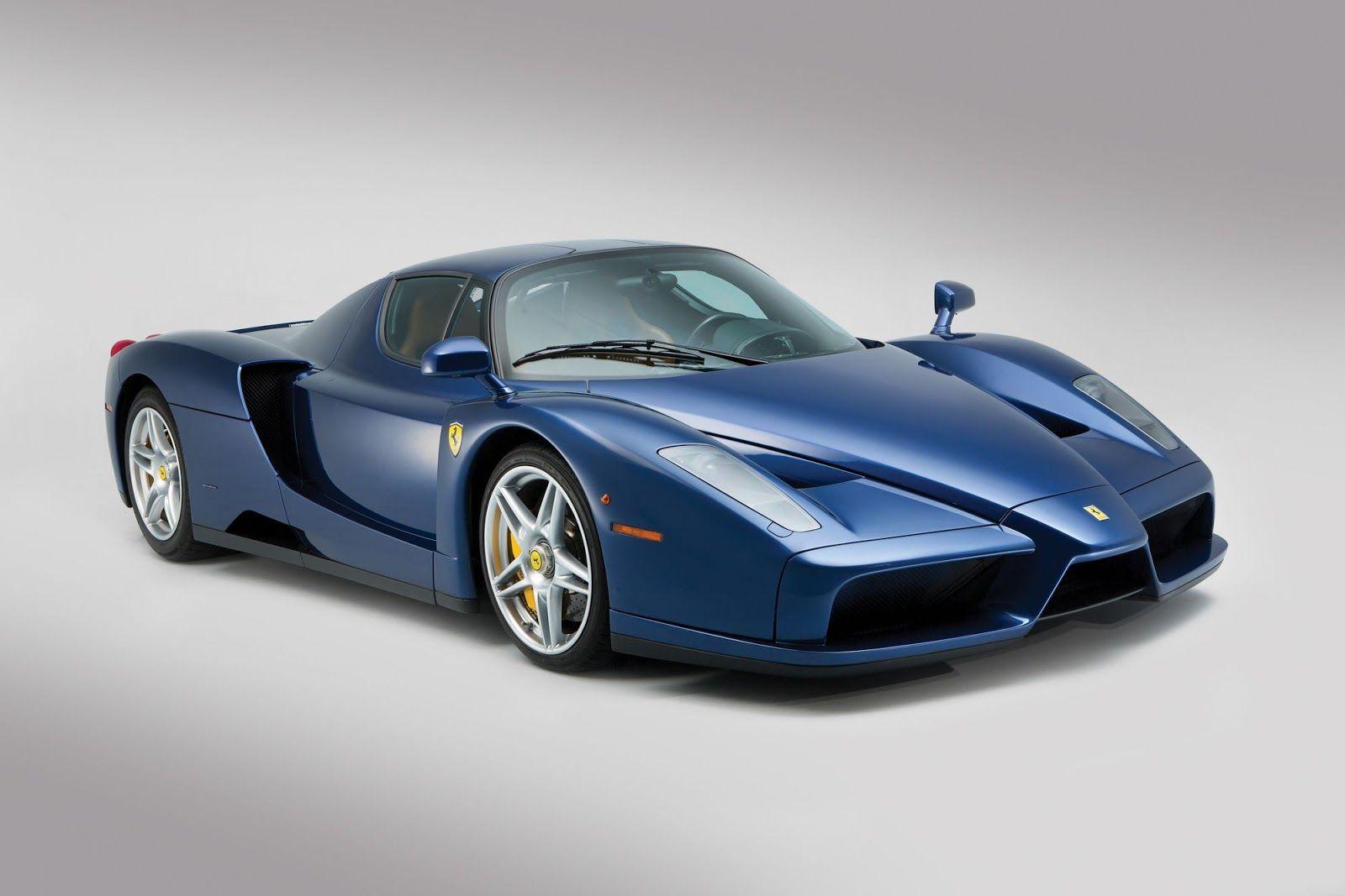 Rare Blu Tour De France Ferrari Enzo Bound For Auction Ferrari