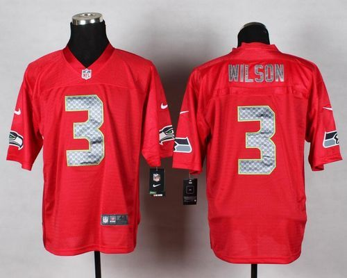 0e4e033a3 Nike Seahawks  3 Russell Wilson Red Men s Stitched NFL Elite QB Practice  Jersey And  Falcons Keanu Neal jersey