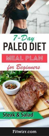 7Day Paleo Diet Meal Plan to Lose Weight  Paleo Diet