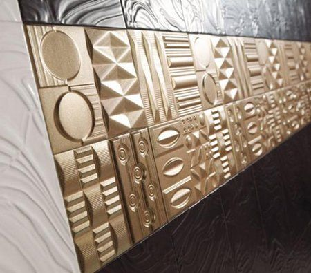 The New Keros Tiles Have Both The Looks And The Feel, A Rich And Geometric  Alternative Ornament. The Delicate 25 By 40 Tiles With Hyeroglyph Like  Designs T