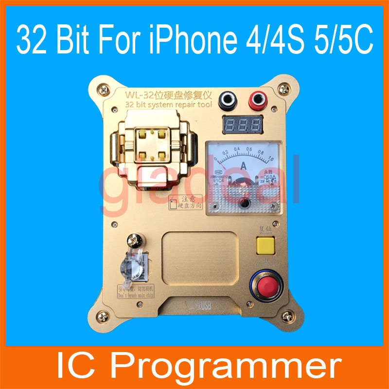 368.00$  Buy here - http://alifmp.shopchina.info/go.php?t=32594372503 - 32 Bit IC Chip NAND Flash Programmer Machine Repair Mainboard Hard Disk HDD Serial Number SN for iPhone 4 4S 5 5C iPad 2 3 4...  #magazineonlinewebsite