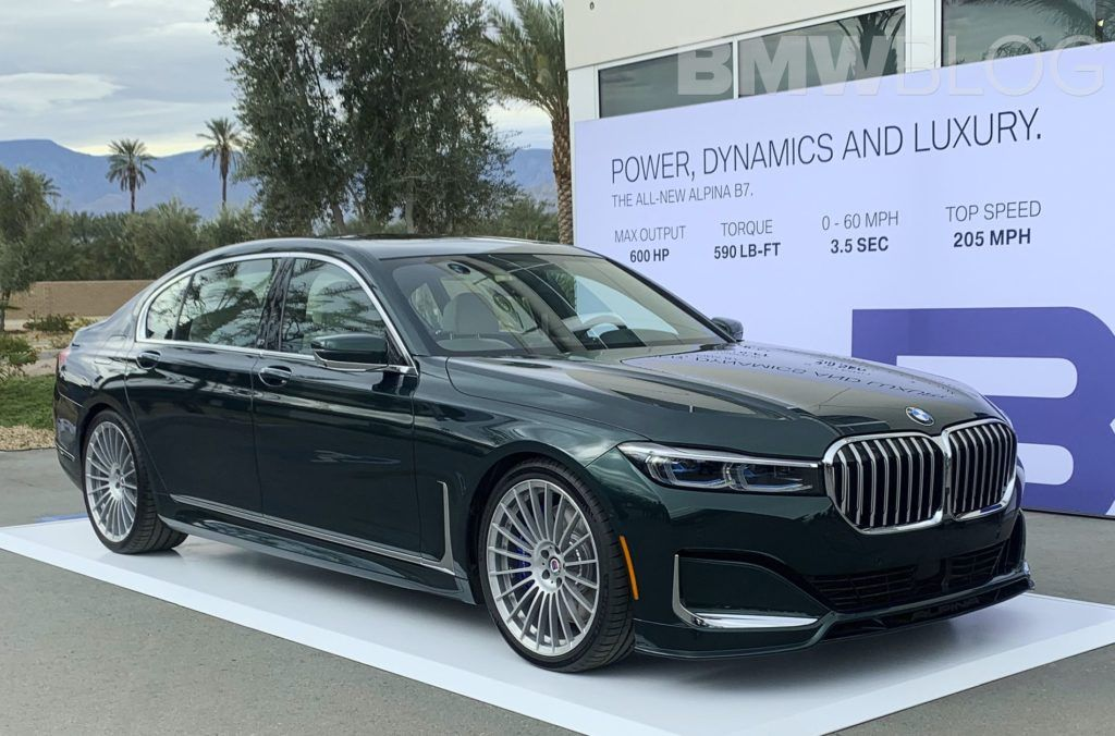 First Live Photos 2020 Alpina B7 Facelift With Images Bmw