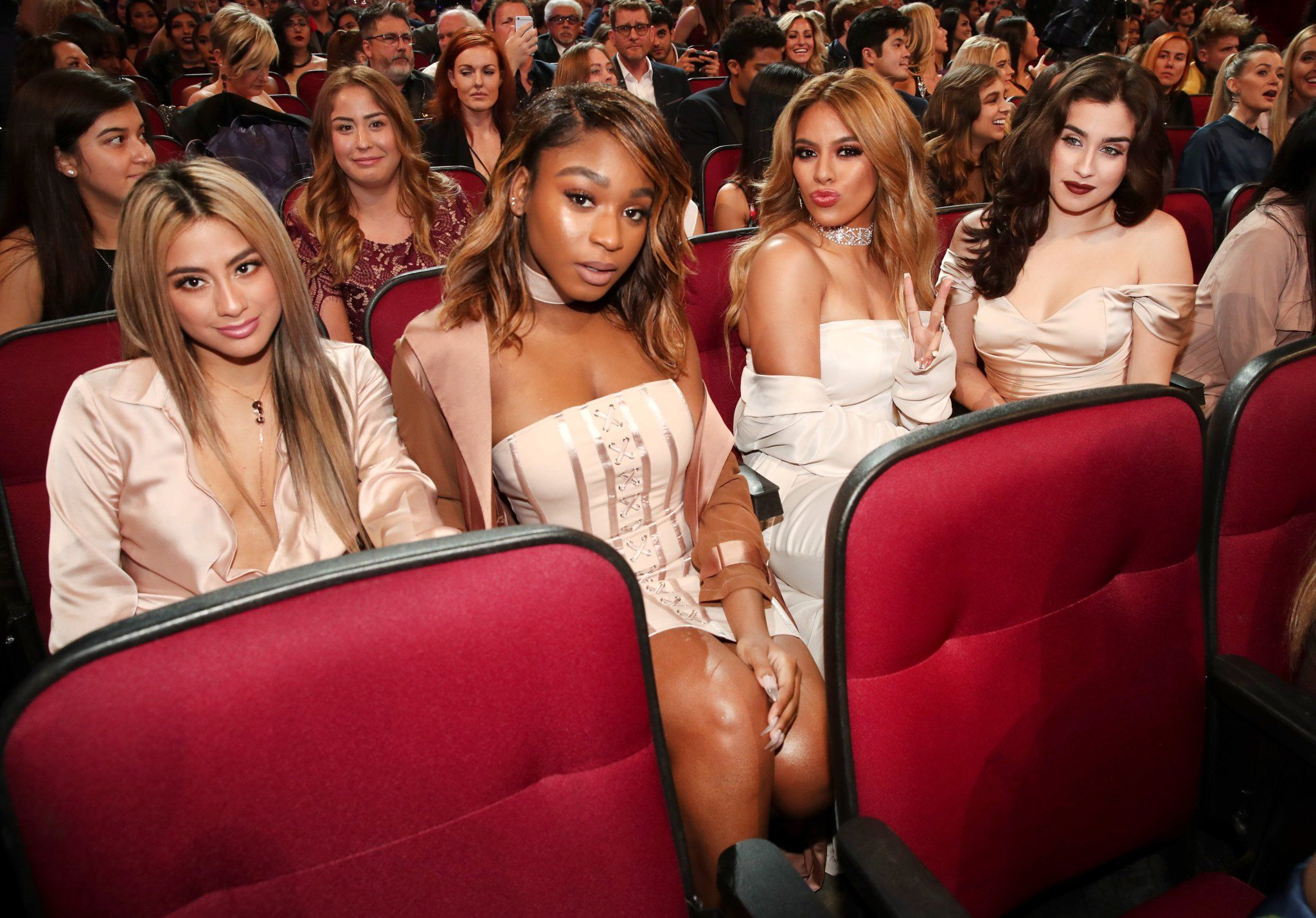 """5HonTour on Twitter: """"Fifth Harmony at the #PCAs #5HPCAs https://t.co/adCdgXyGXS"""""""