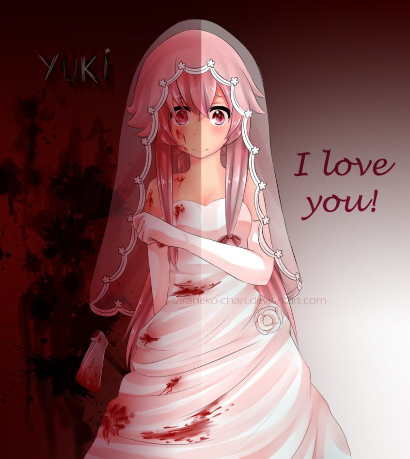 Pin By Jori Shannon Mcneil On Mirai Nikki Yuno Gasai Yandere Anime Yuno