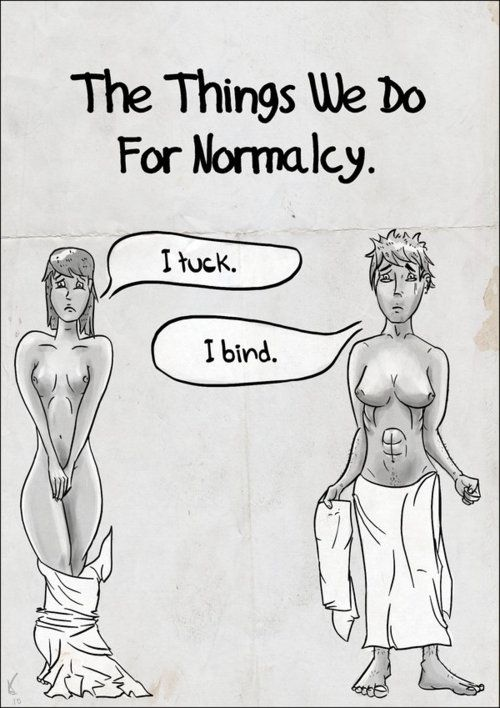 Transgender - Normal by iMcQueeni featured on transtoons via Tumblr