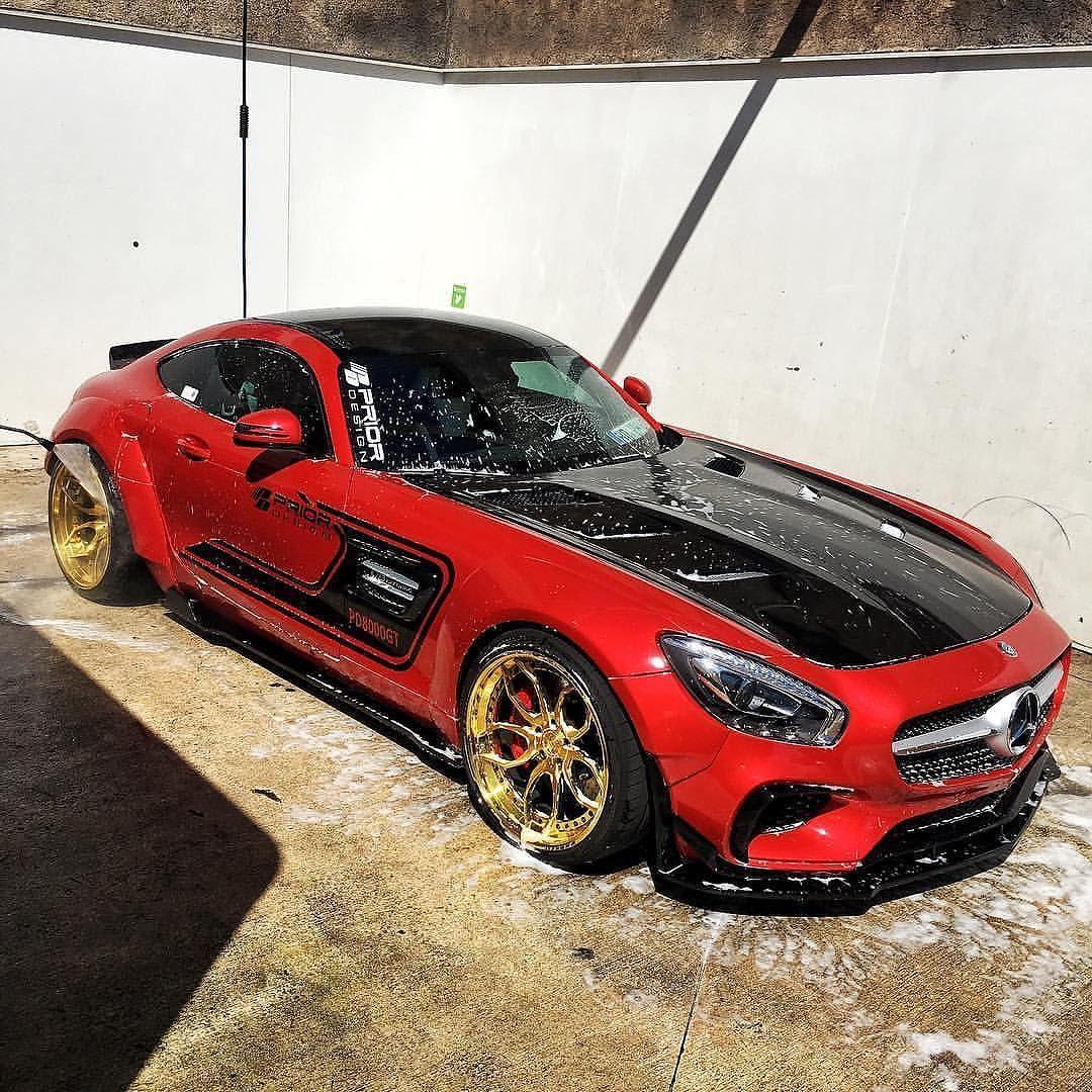 Repost Via Instagram: Prior Design Wide Body AMG GTS By