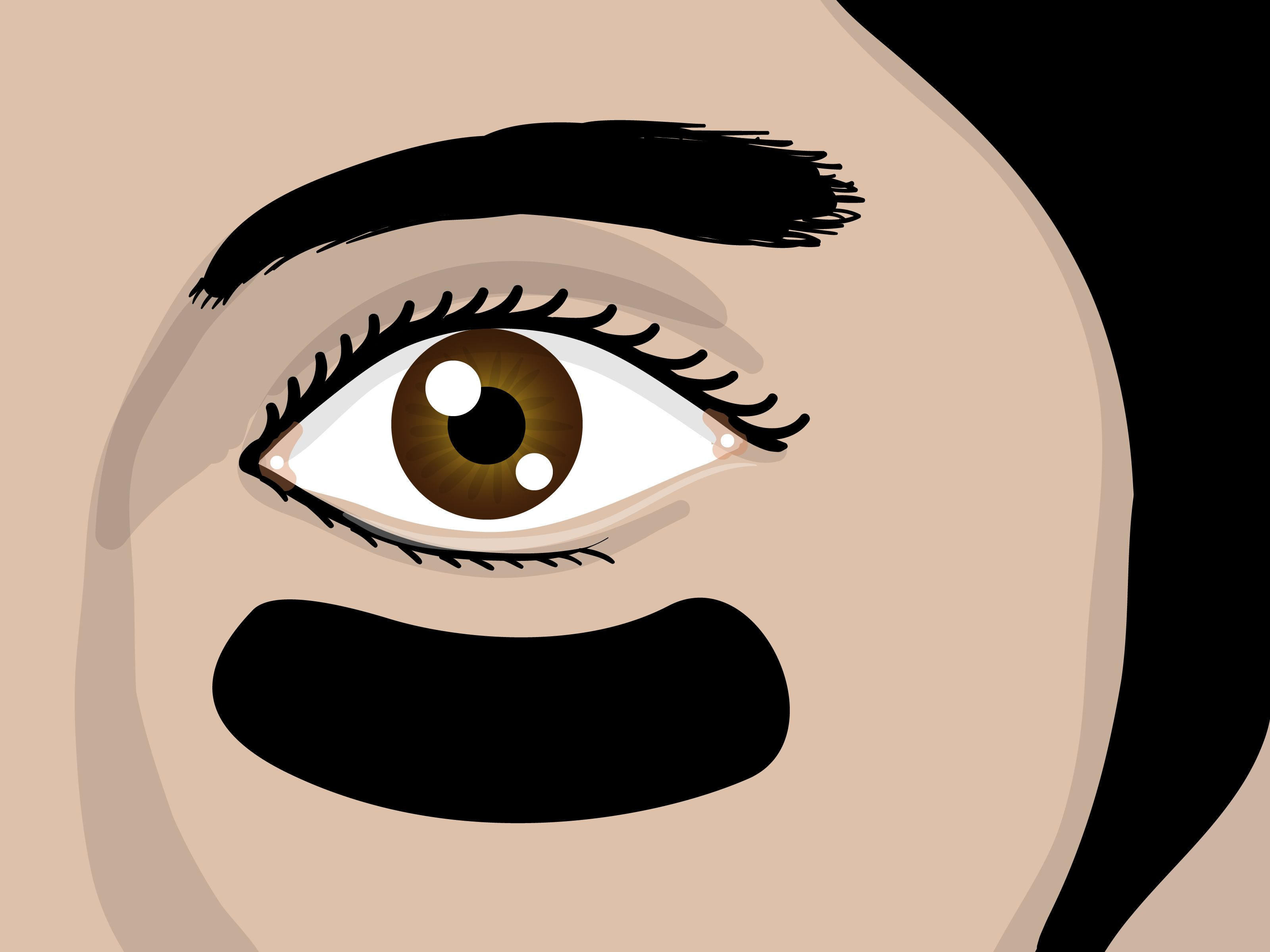 How To Apply Eye Black For Baseball  Via Wikihowcom