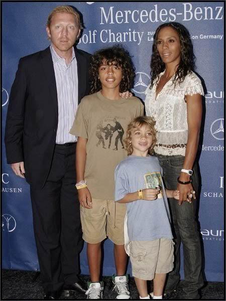 Tennis Pro Boris Becker And Family Interracial Relationships