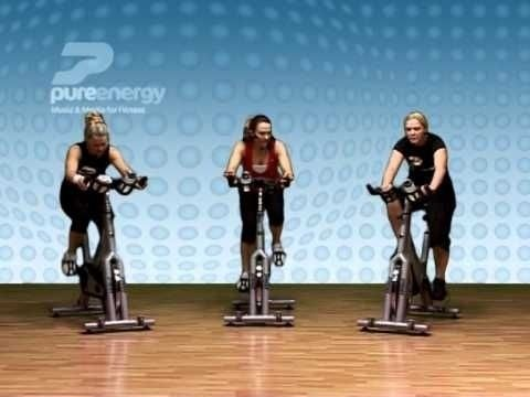 Exercise Bike Workout Part 1 Workout Videos Fitness Excercise Flat