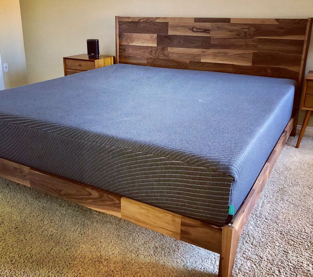Walnut Bed Bed Frame Walnut Bed How To Make Bed