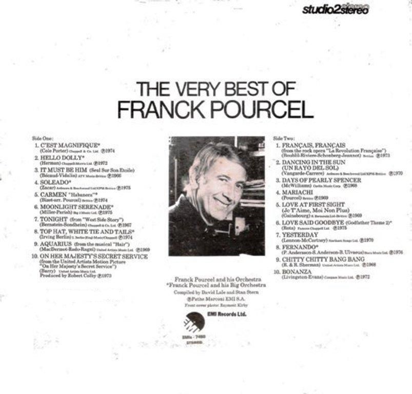 The Very Best of Franck Pourcel – 1977 | Luz! Cámara! Música!