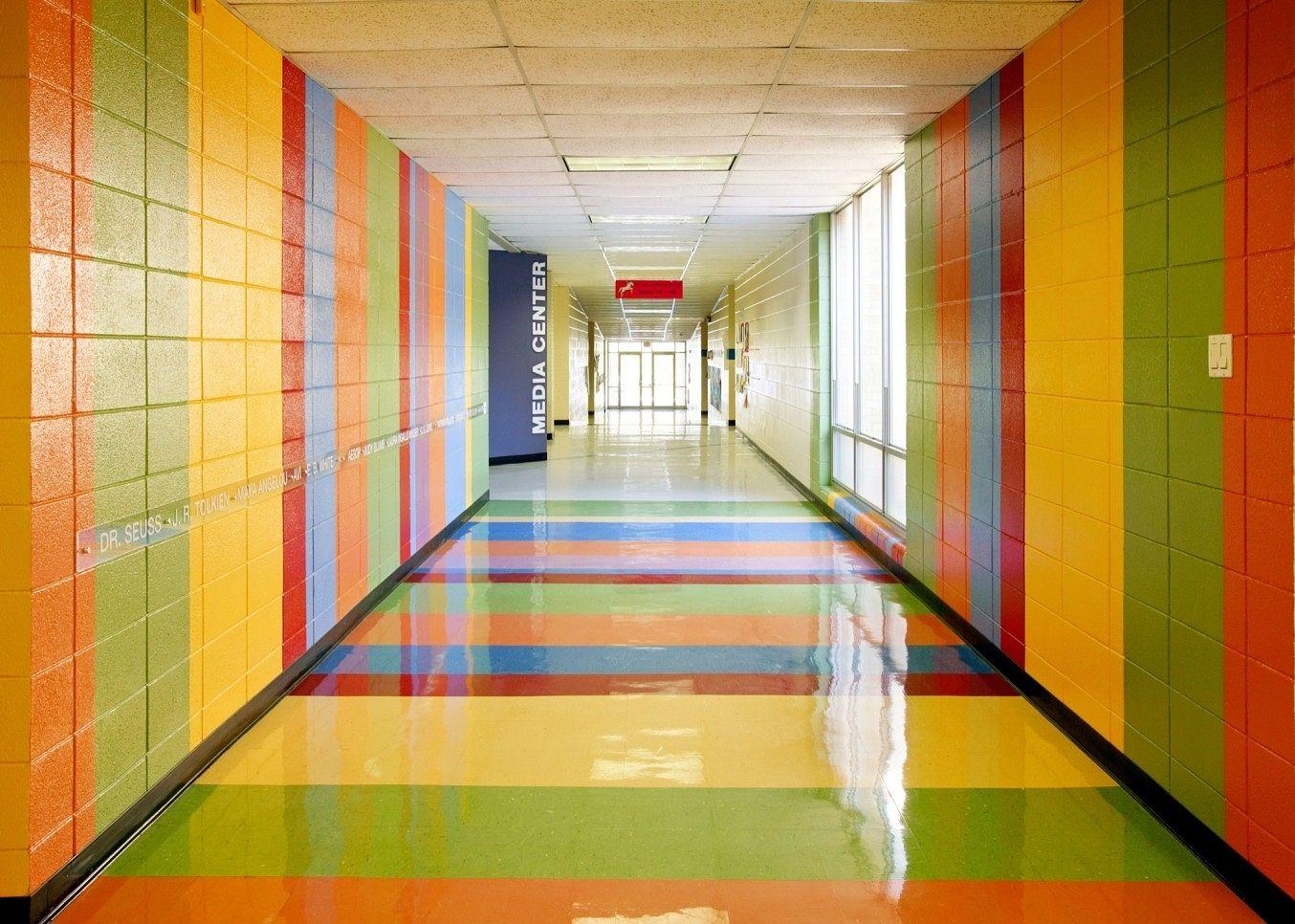 Mabelvale Elementary School Media Center Elementary Schools