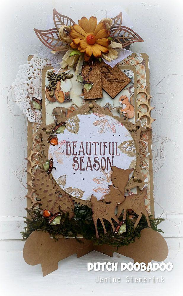 Jenine's Card Ideas: Autumn Woods label