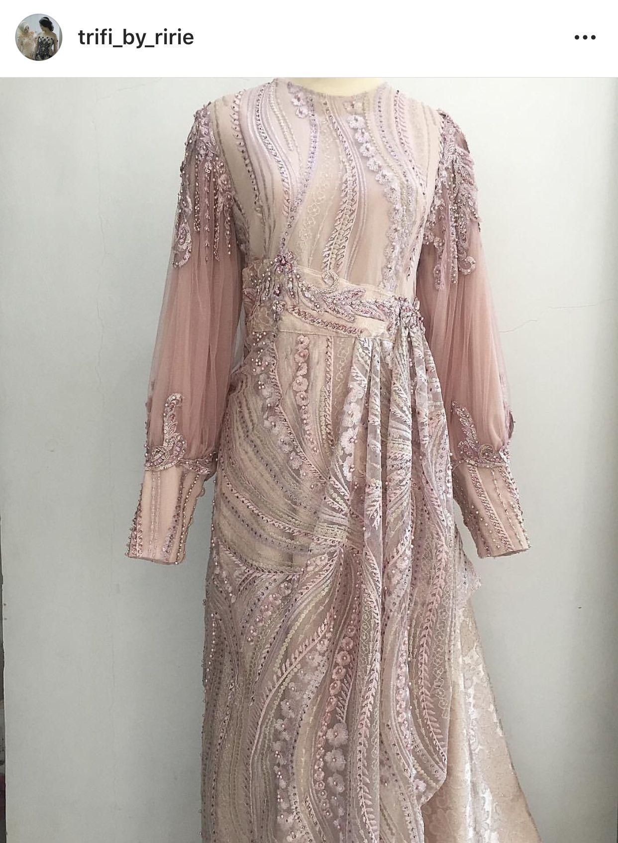 Pin Oleh Indah Dewi Di Long Dress Pakaian
