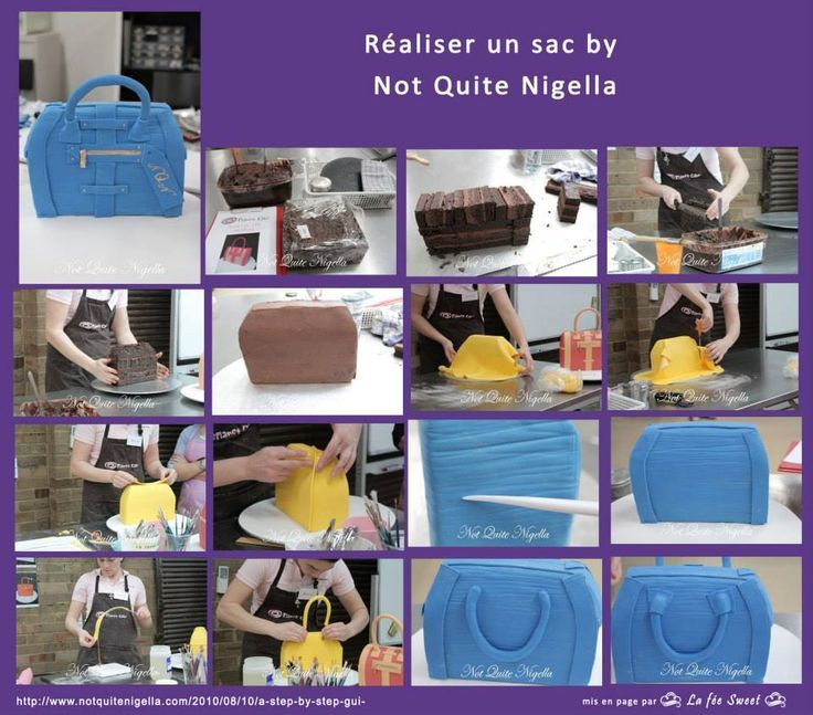 How to make a purse cake at home