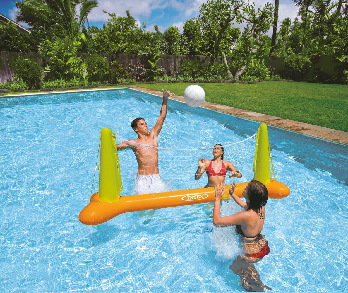 Pool Volleyball Game Buy Now Inflatable Pool Toys Pool Toys Volleyball Set