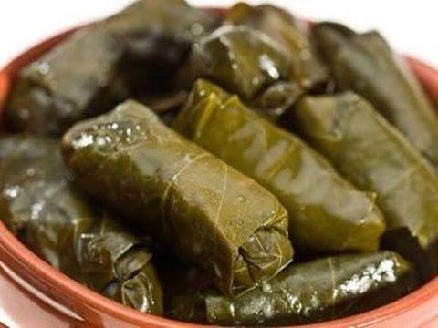 يبرق سوري طريقة طبخ ورق العنب Youtube Stuffed Grape Leaves Grape Leaves Recipe Food