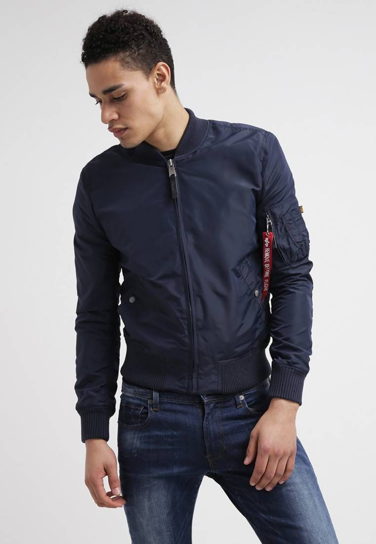 clear and distinctive hot-selling real favorable price Bomber Jacket - marine @ Zalando.co.uk 🛒 | Zalando ♥ Men's ...
