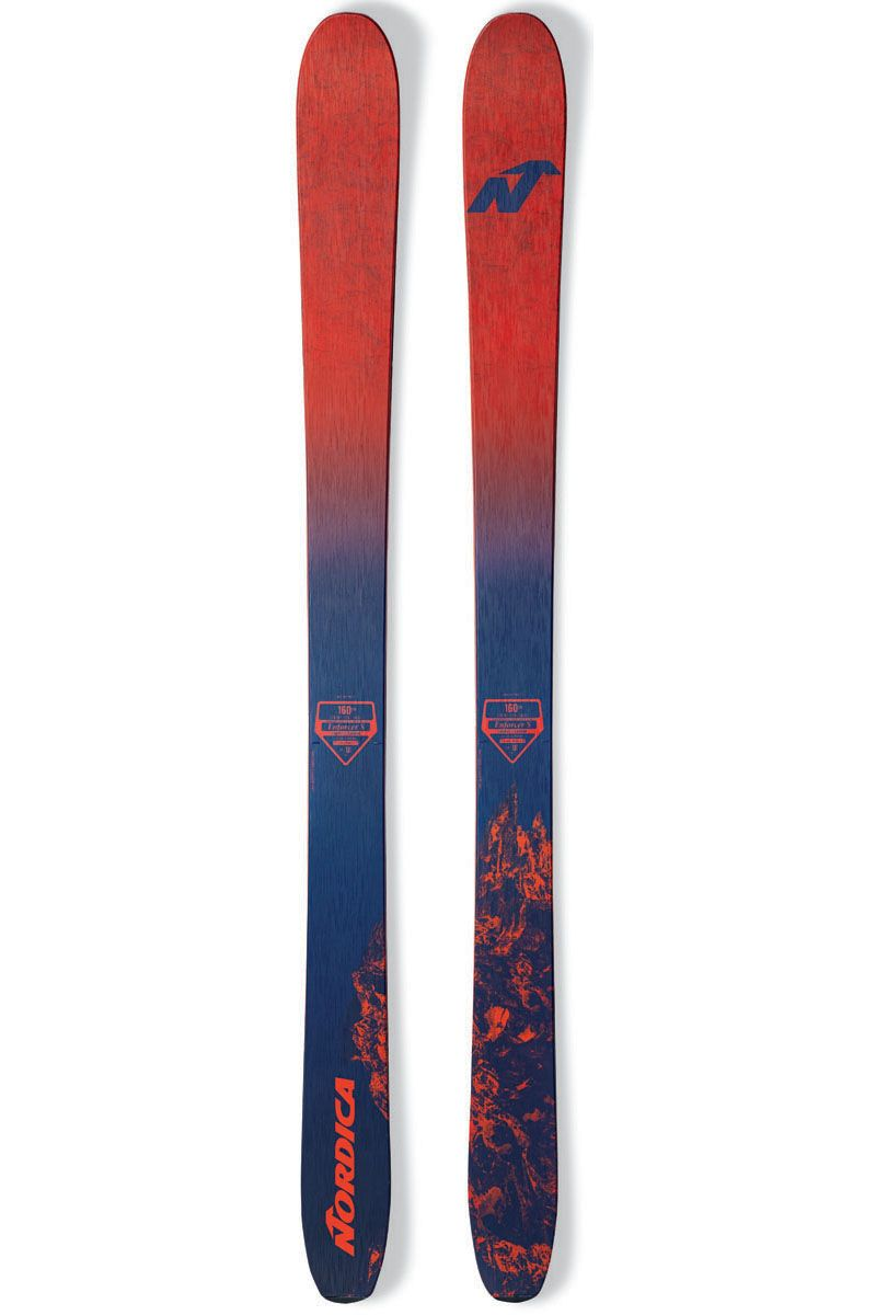 For Junior Skiers Who Never Stop Exploring The 2017 Nordica Junior Enforcer S Freeride Ski Is The Go To Option This Off Piste Ad Freeride Ski Freeride Skiing