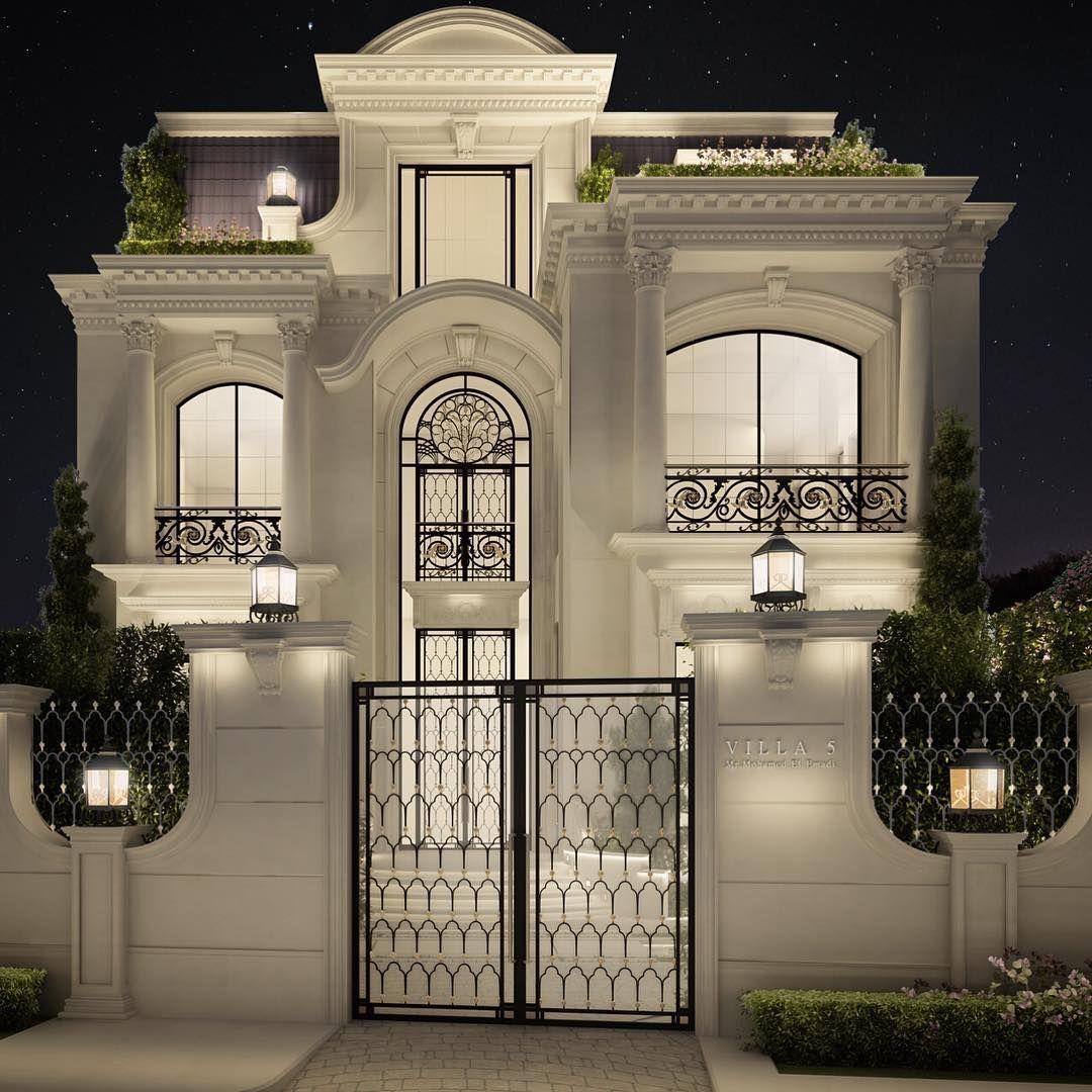 Professional luxury villa exterior designs in qatar - Private Villa Architecture Design Qatar Doha Doha Qatar