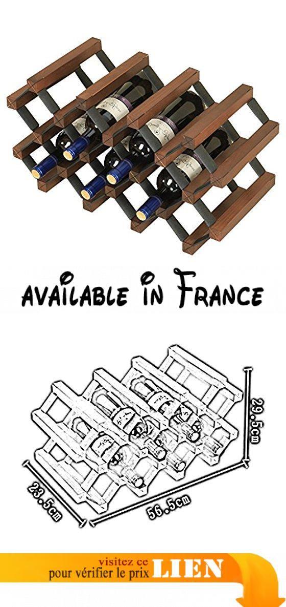 XUERUI Porte-bouteilles de vin en bois décoration porte-bouteilles - installer un cadre de porte