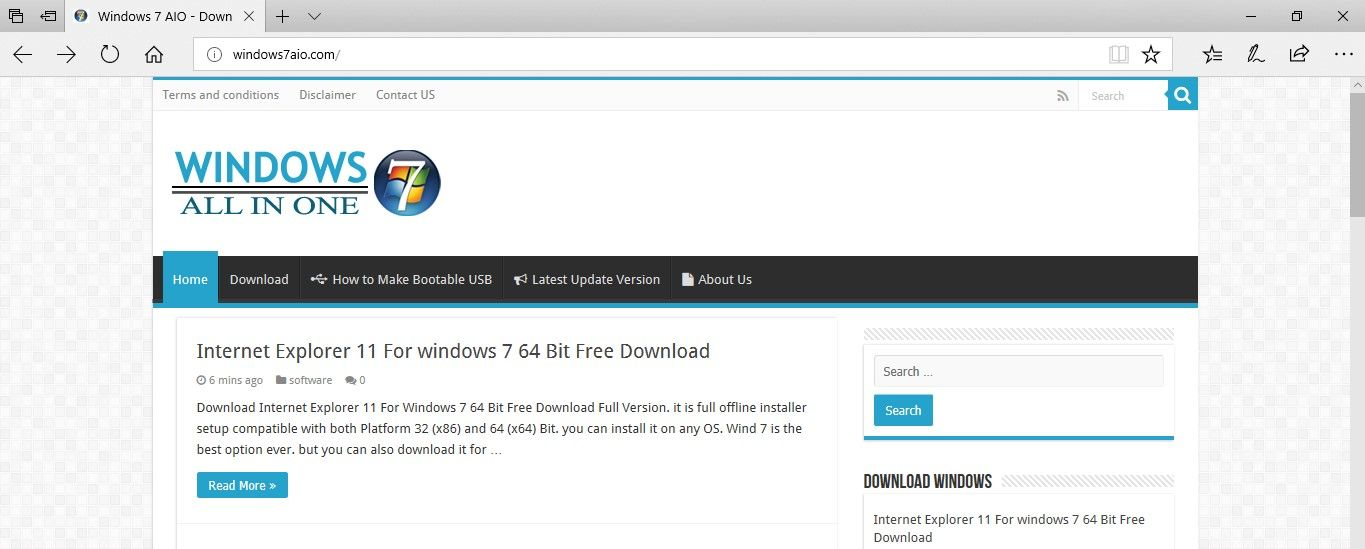 Download Internet Explorer 11 For Windows 7 64 Bit Free Download