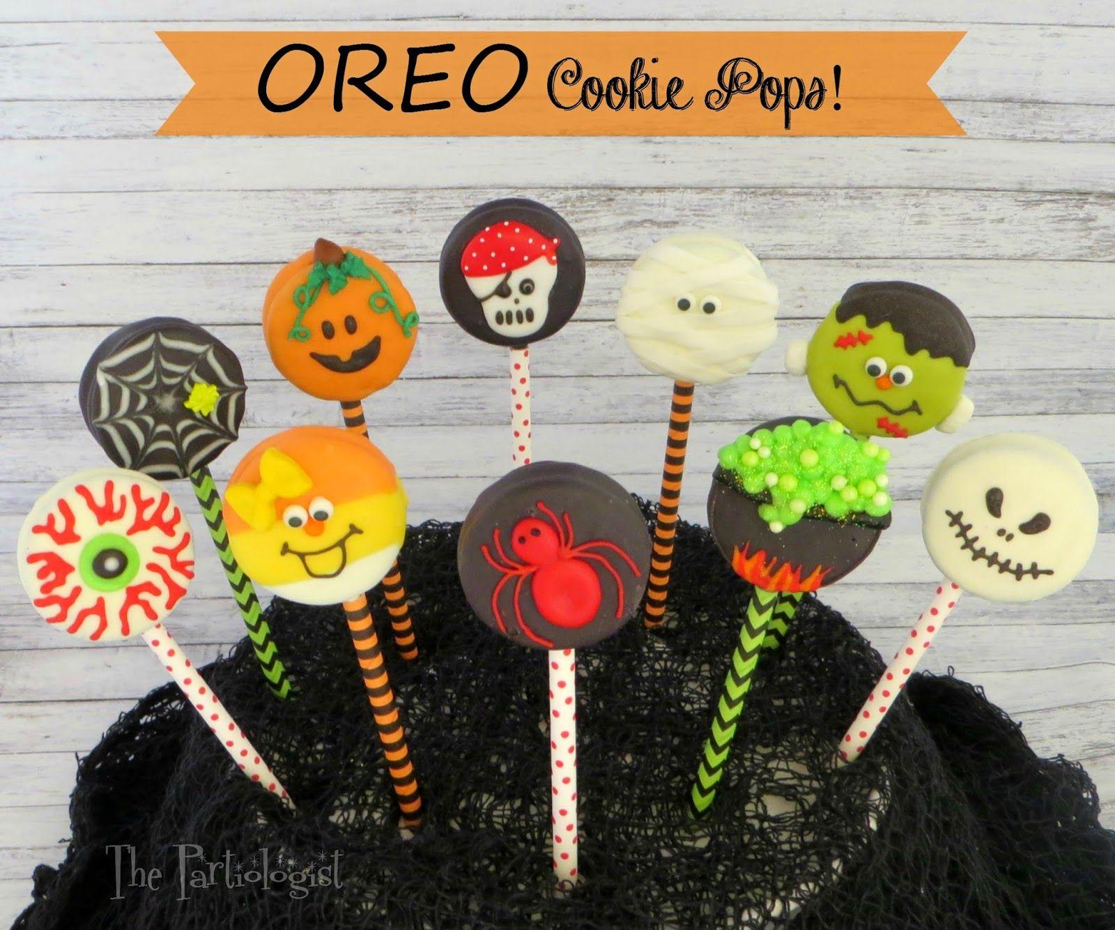 Halloween Oreo Cookie Pops Cute Halloween Oreo