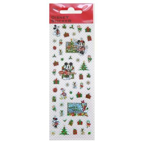Cinemacollection | Rakuten Global Market: Mickey & Friends holiday SDX-6 sticker book Deco HR store.
