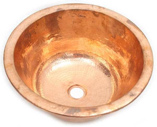 Shiny Copper Patina Sink Colors By Copper Sinks Direct