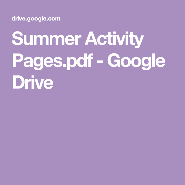 Google Drive (With Images