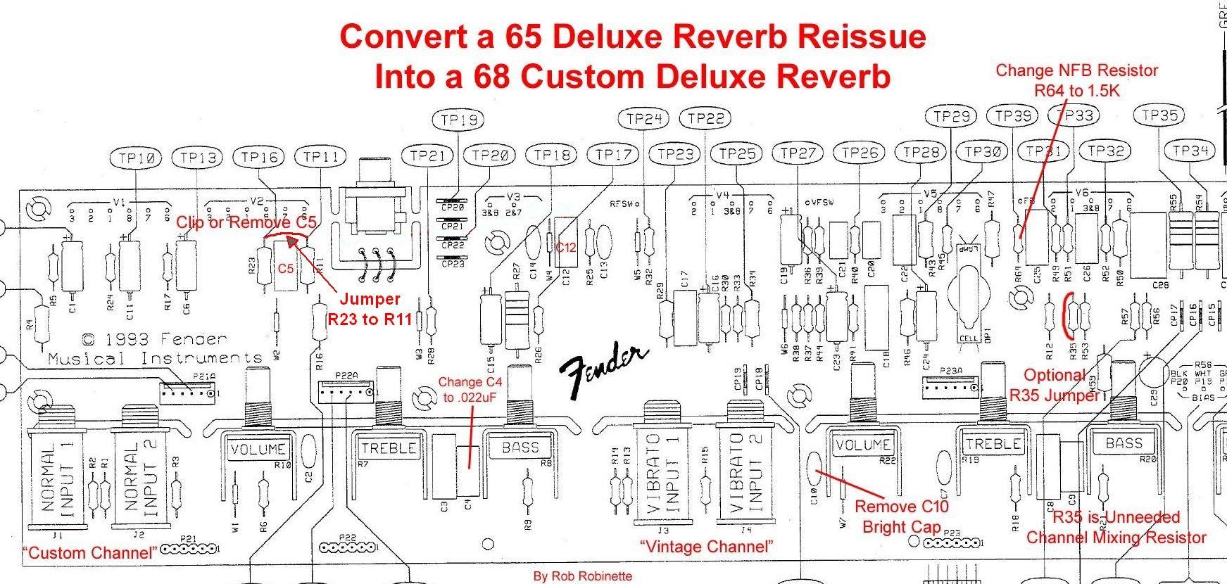 ab763 mods fender deluxe guitar amp tube [ 1743 x 830 Pixel ]