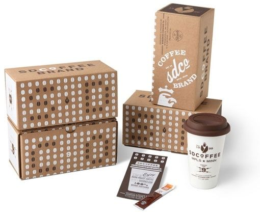 SD Coffee Branding