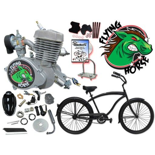 Motorized 26 inch micargi mens stealth beach cruiser diy get the bike and the engine kit together and save here is a complete do it yourself bike solutioingenieria Choice Image