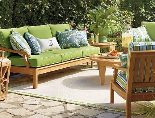 Frontgate Cassara Outdoor Furniture Collection   Patio Furniture Sets