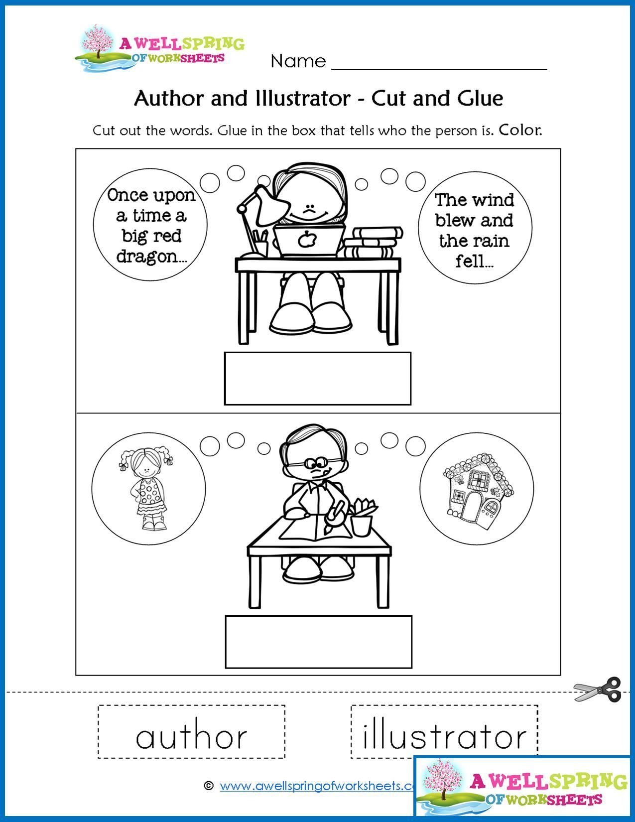 Worksheets By Subject A Wellspring Of Worksheets Parts Of A Book Kindergarten Library Lessons Kindergarten Worksheets [ 1650 x 1275 Pixel ]