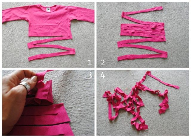 armband aus tshirt upcycling armband selber machen diy tutorial anleitung freebook diy. Black Bedroom Furniture Sets. Home Design Ideas
