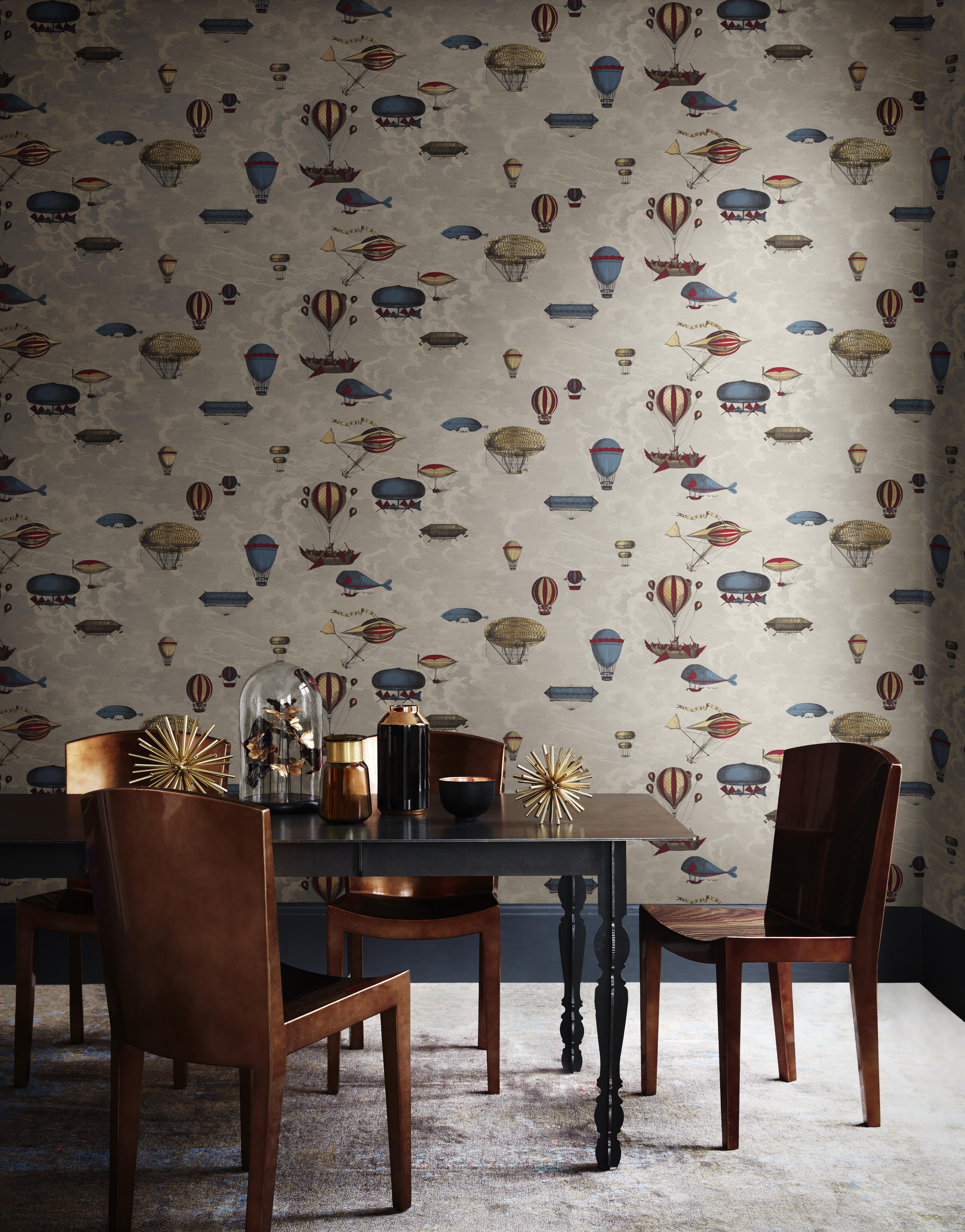 Macchine Volanti Wallpaper By Cole & Son - Jane Clayton