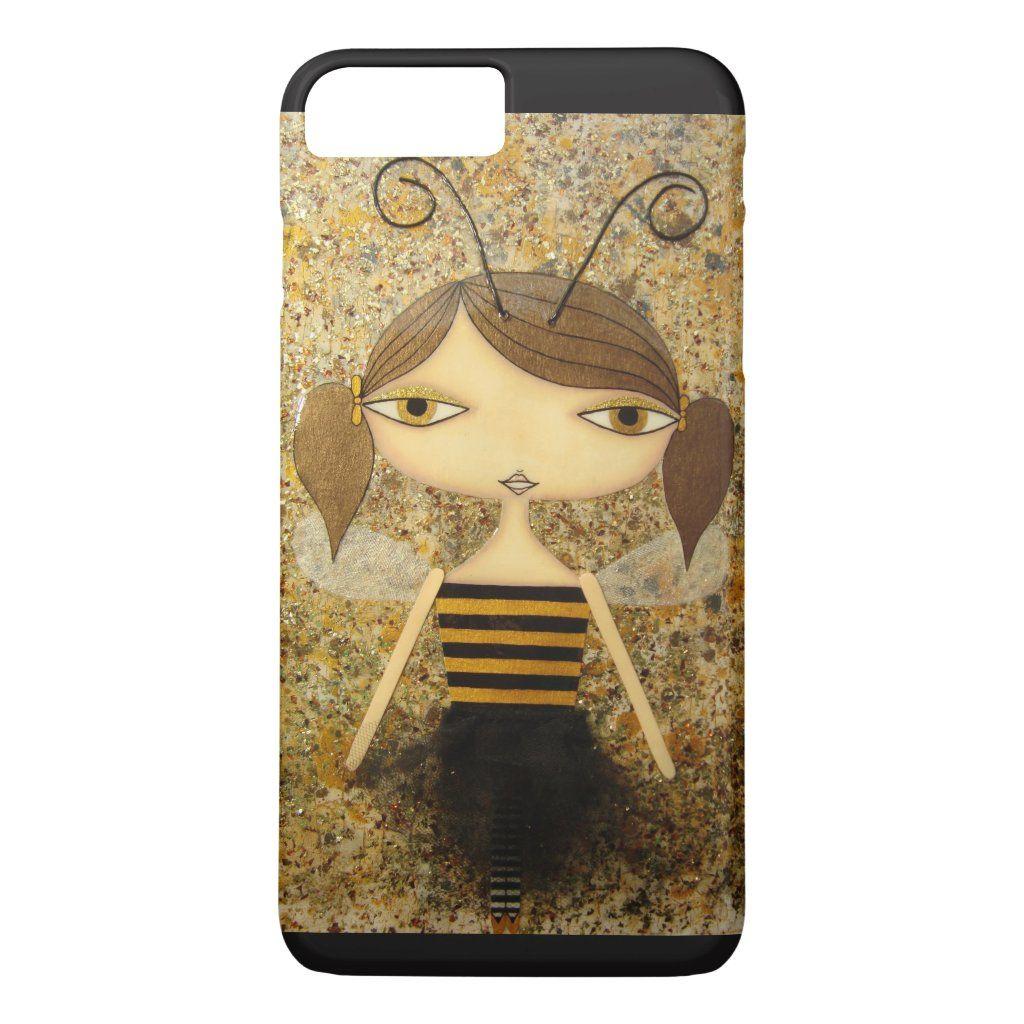 """Brown Bee Girl"" iPhone 7 Plus Case! Case-Mate iPhone Case | Zazzle.com"