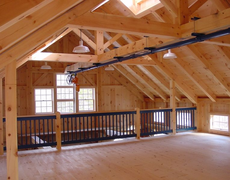 Auto collector 39 s timber frame workshop maine timber frame for Maine post and beam kits