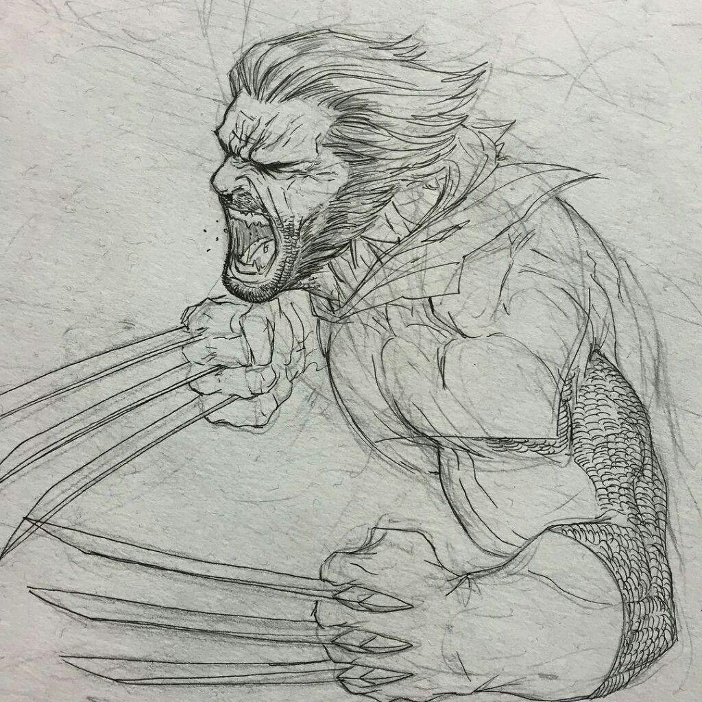 непосредственна комикс рисунки карандашом логан палаты