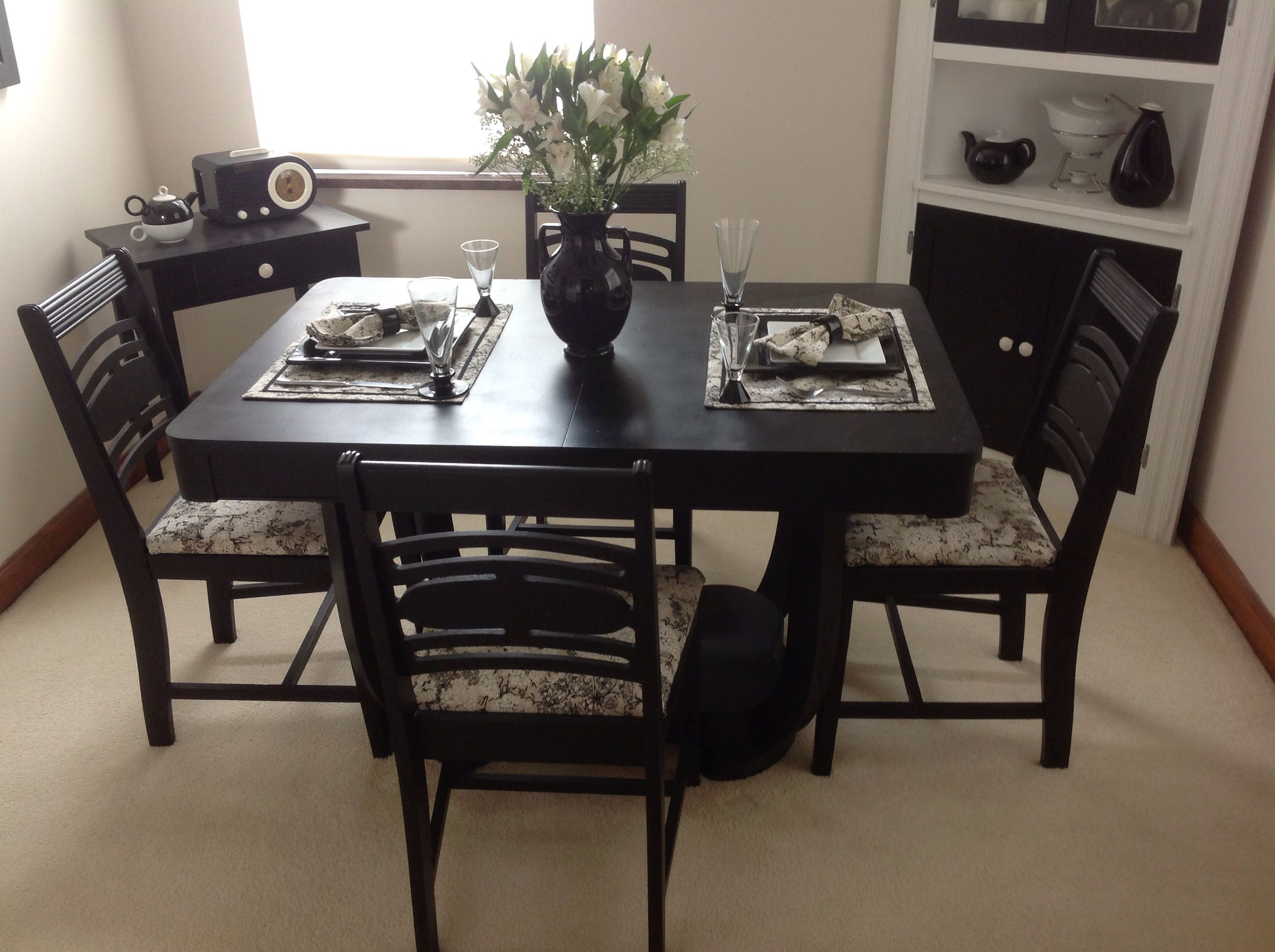 Estate Sale Dining Room Furniture Dining Room In My 1937 Detroit Homepainted The 1930's Dining Set