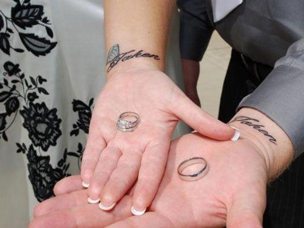 27 Stupendous Couple Tattoo Ideas Simple Couples Tattoos Couple