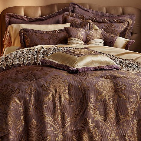 Highgate Manor Savannah 20 Piece Comforter Set Hsn Comforter Sets Comforters Luxurious Bedroom
