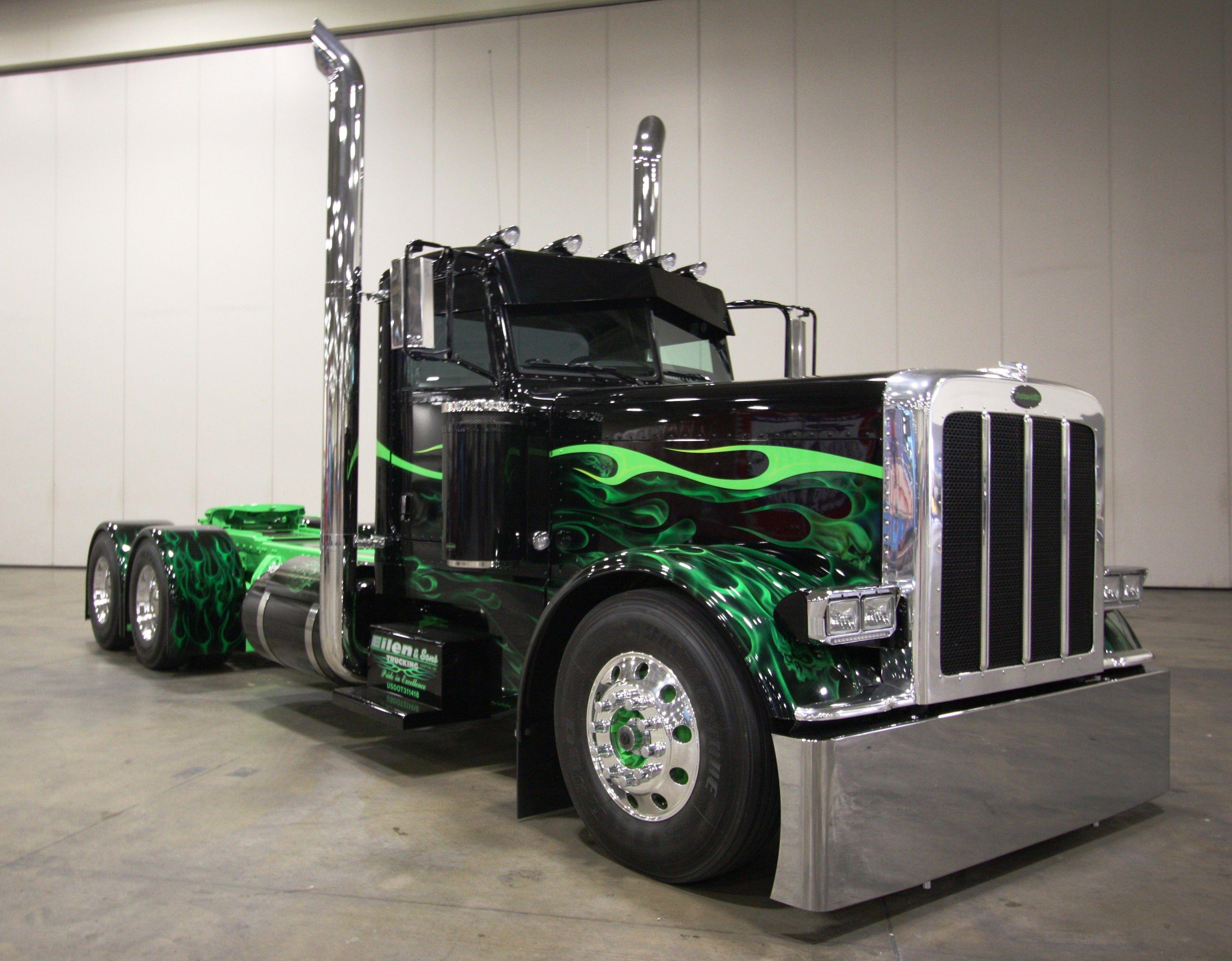 Best Of Show Working Bobtail Mitch Larson Pat Eilen Trucking