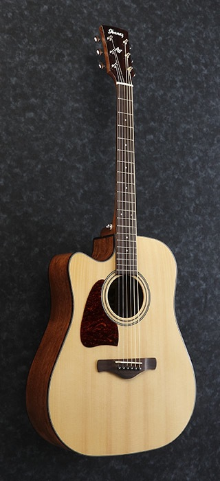Ibanez Artwood Left Handed Acoustic Electric Custaway Dreadnaught Guitar Acoustic Electric Guitar Best Acoustic Guitar
