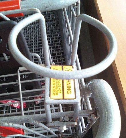 Shopping Cart Cup Amenity | Coffee cup holder, Shopping ...