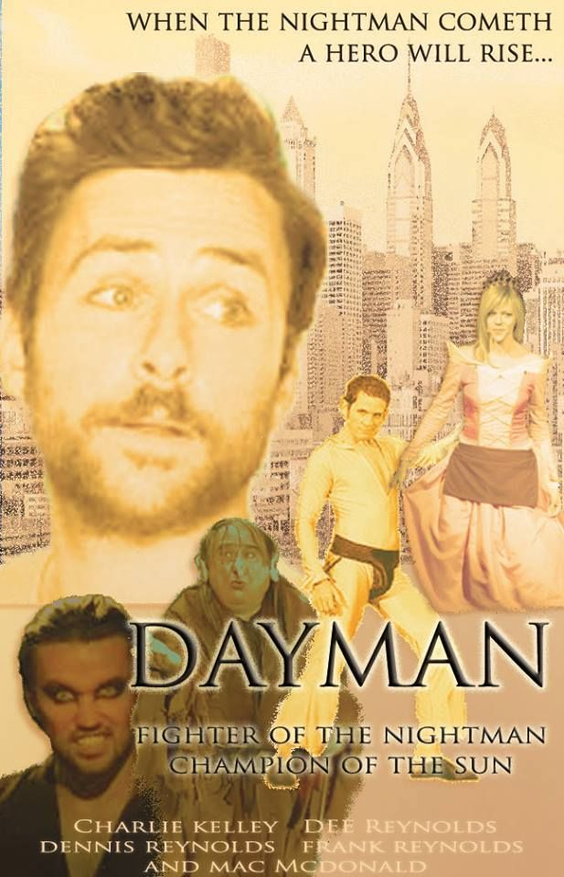 movie poster i did for dayman from it s