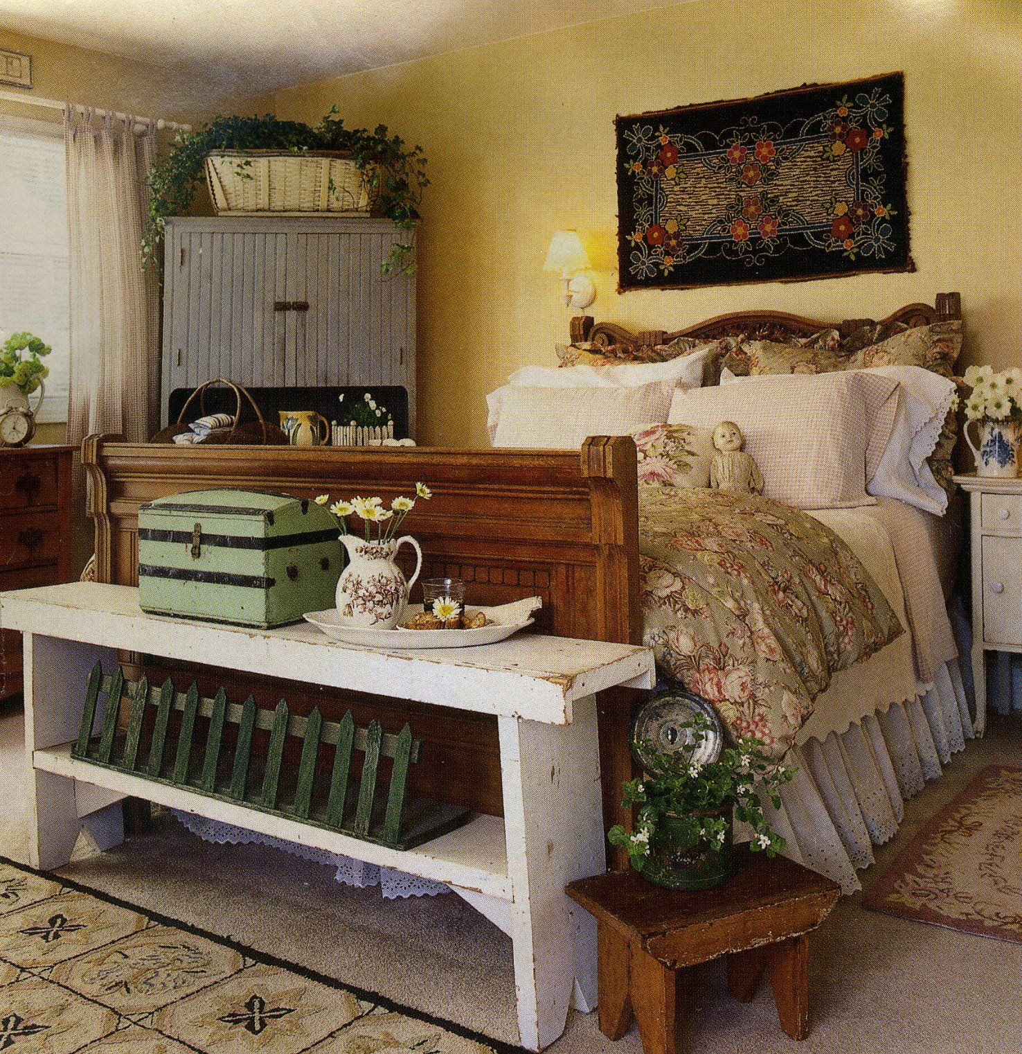 Country bedroom home bedrooms pinterest bedrooms for Country themed bedroom