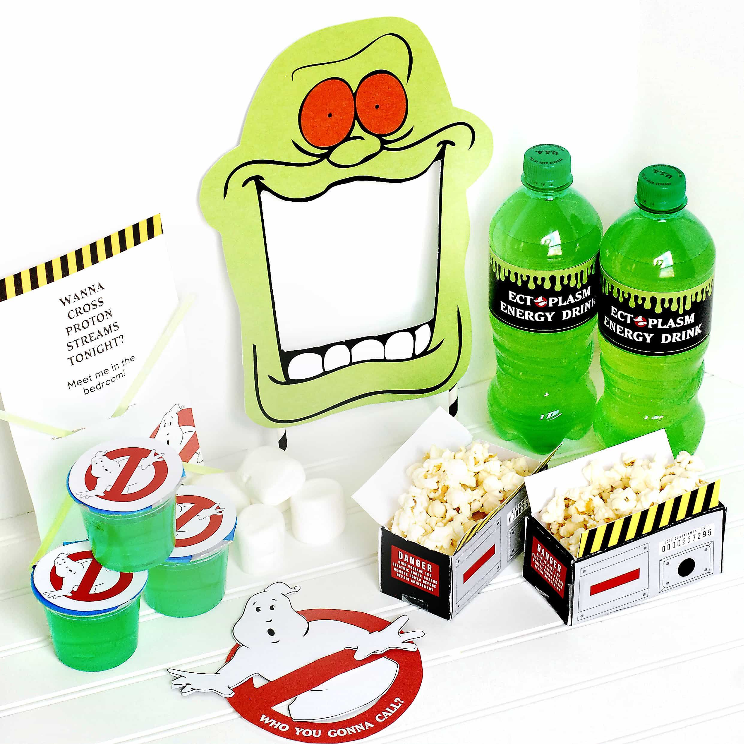Ghostbusters Dinner & a Movie Date | couple fun | Pinterest ...